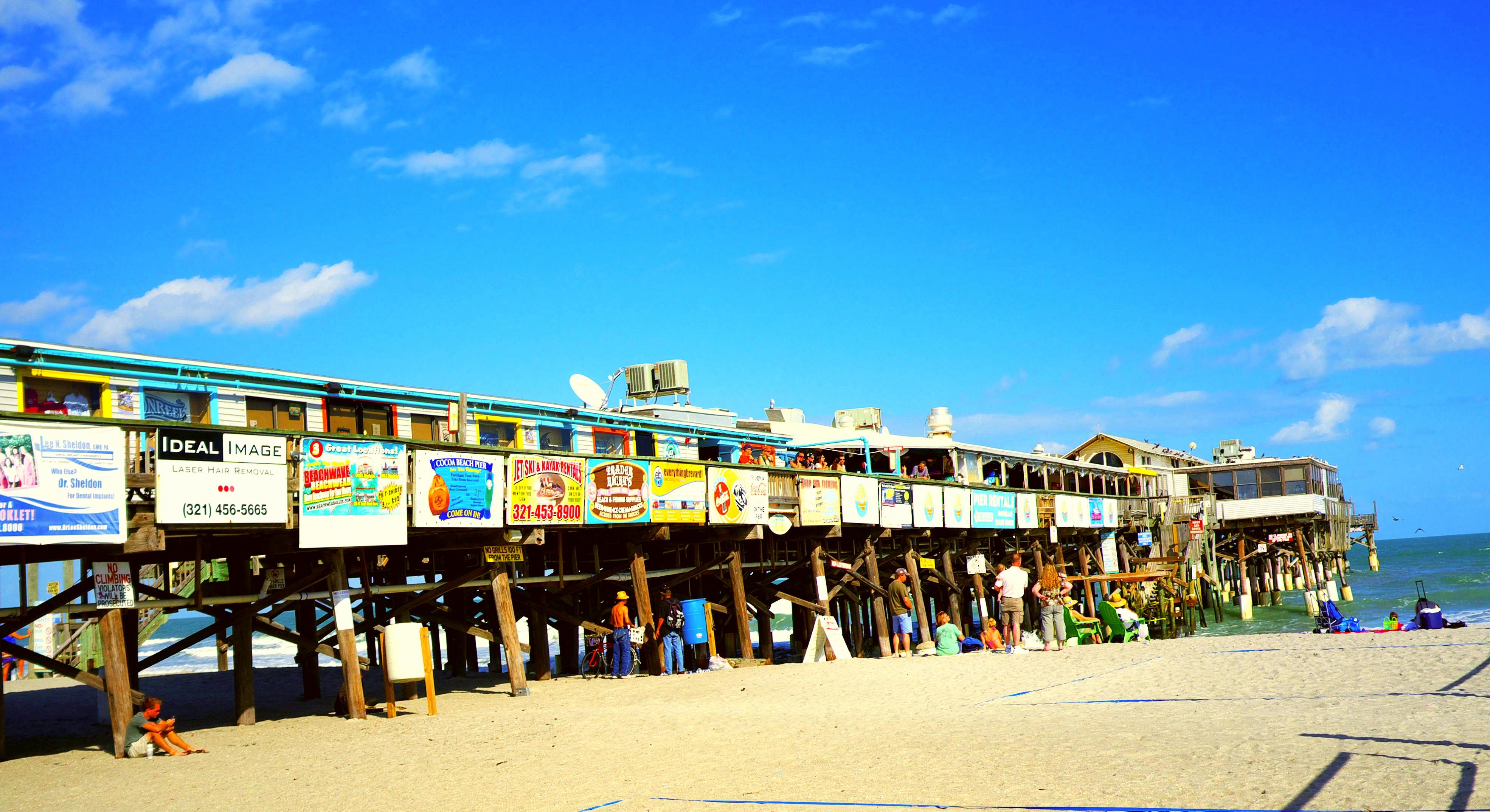 Cocoa Beach Fl : David siegel and partner jim gissy purchase cocoa beach pier